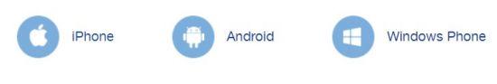 ссылки на мобильные приложения