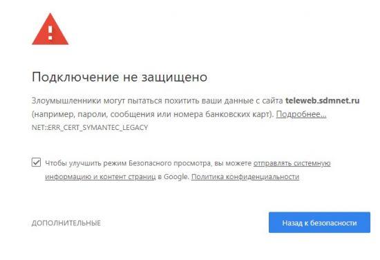 уведомление браузера