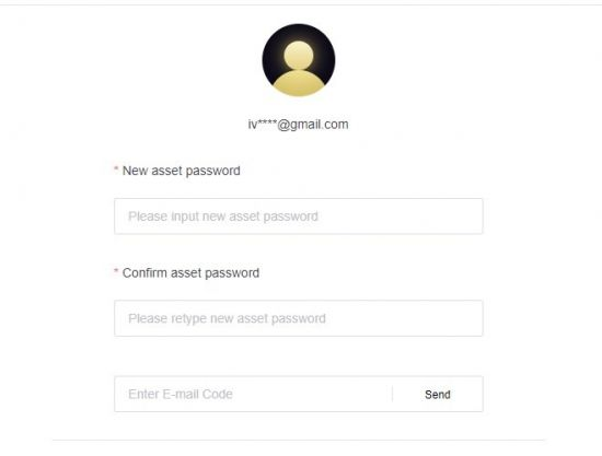 Asset Password